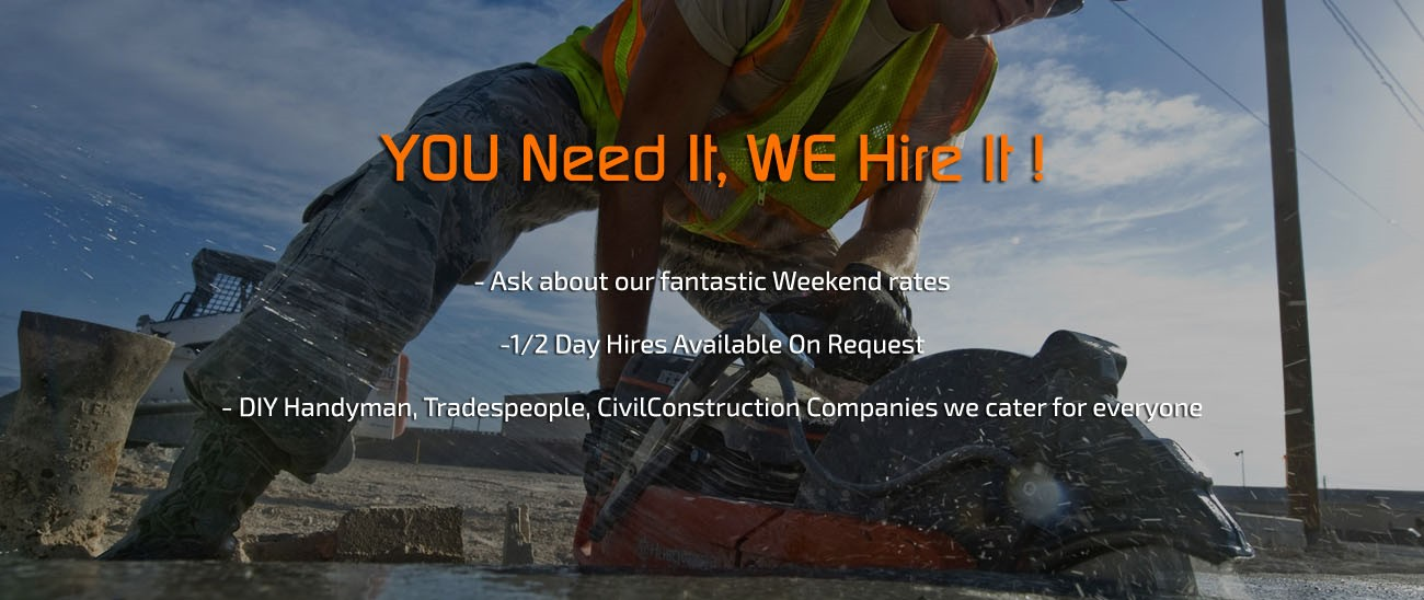 Hire Equipment - Construction